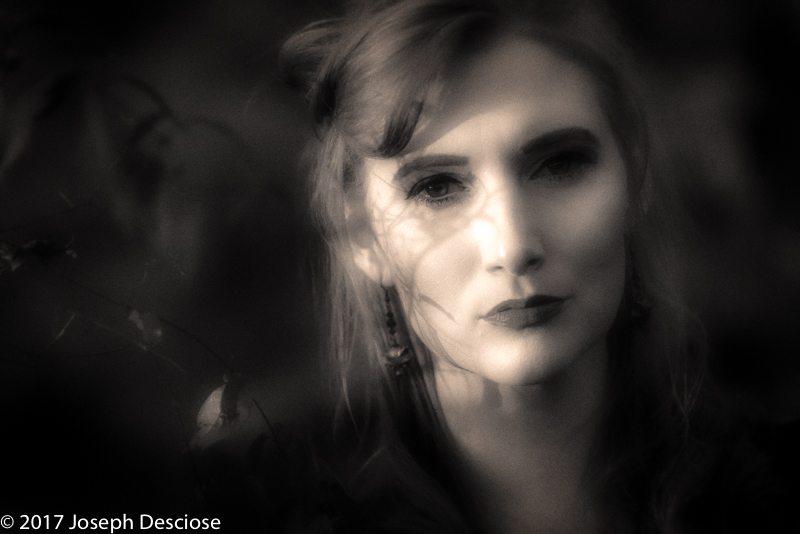 Portrait of Actress Erin Mahaffey