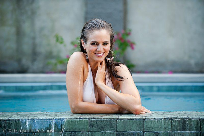 Woman in Swimming pool, Photograph, Joseph De Sciose