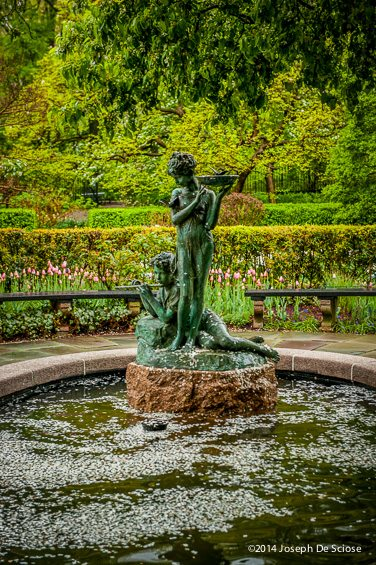 The Conservatory Garden, Central Park, New York City
