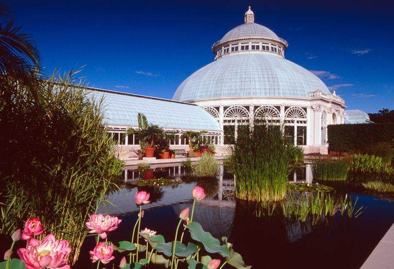 Photo, Conservatory at the New York Botanical Garden