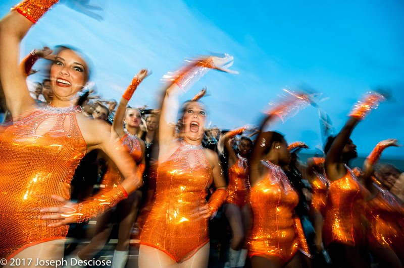 Hoover High School Marching Band, dance team