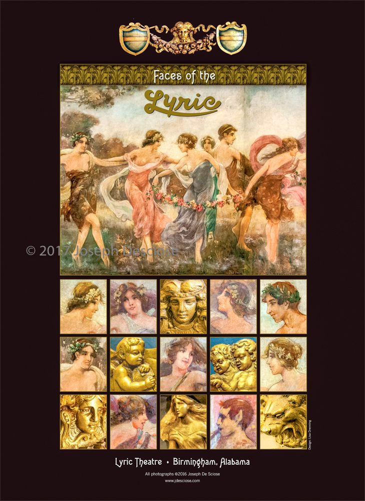 Faces of the Lyric Theatre, Poster