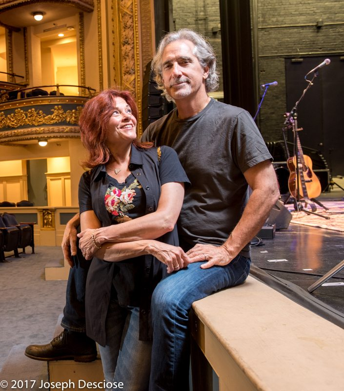 Rosanne Cash and John Leventhal, at the Lyric Theatre, Birmingham