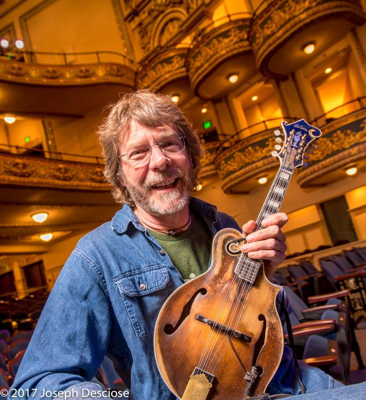 Sam Bush at the Lyric Theatre, Birmingham