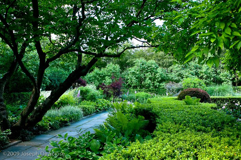 Conservatory Garden, South Garden in June, Central Park