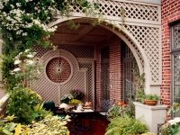 New York City Penthouse terrace garden