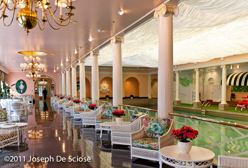 Indoor Swimming Pool, The Greenbrier West Virginia