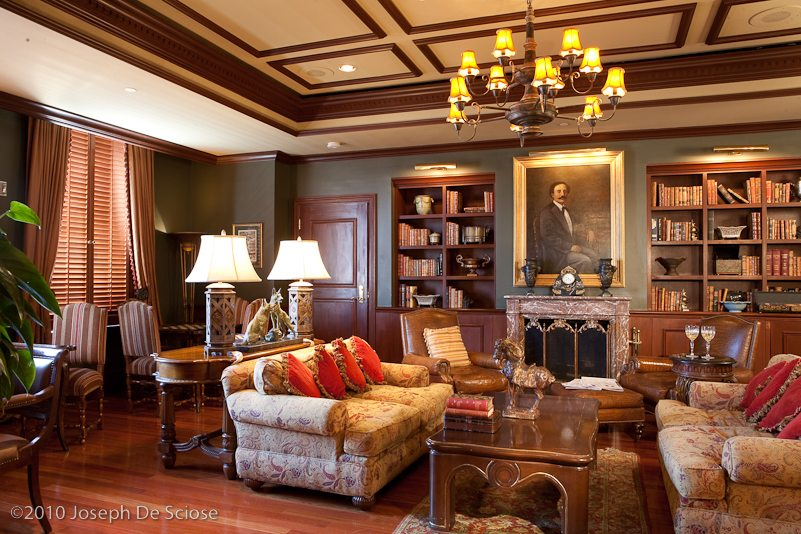 The Ritz-Carlton Club, Maison Orleans, Library, photo, New Orleans