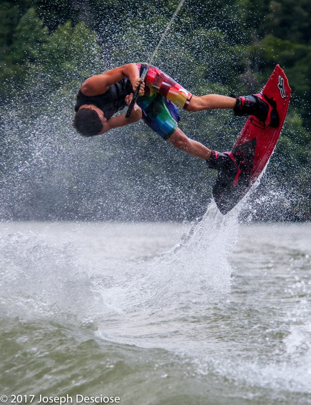 Smith Lake wakeboarding