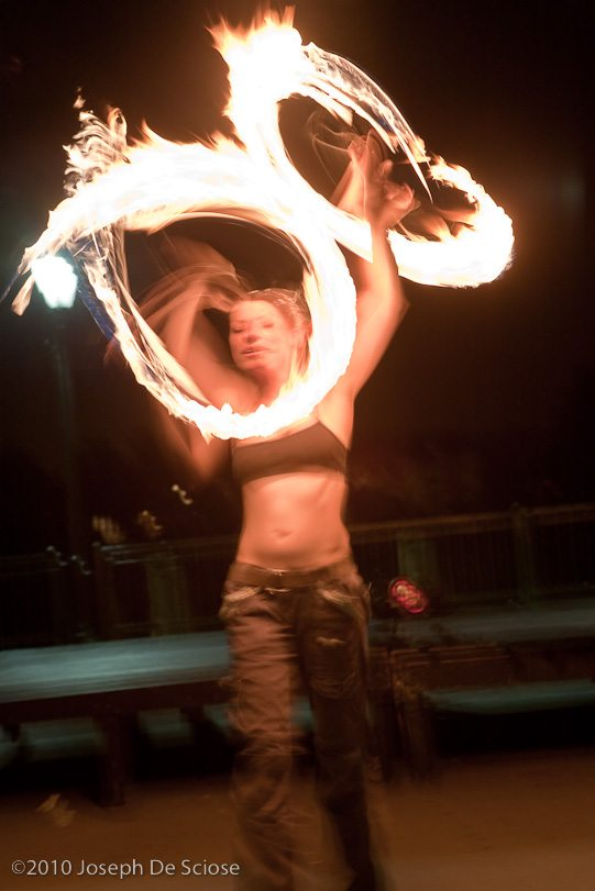 Fire Dancer, Augusta, Georgia