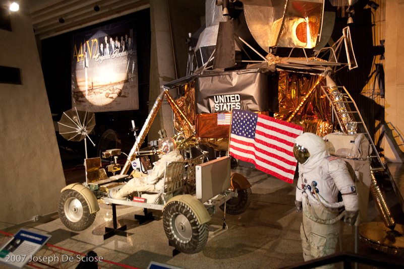 Lunar Rover display, Huntsville, Alabama