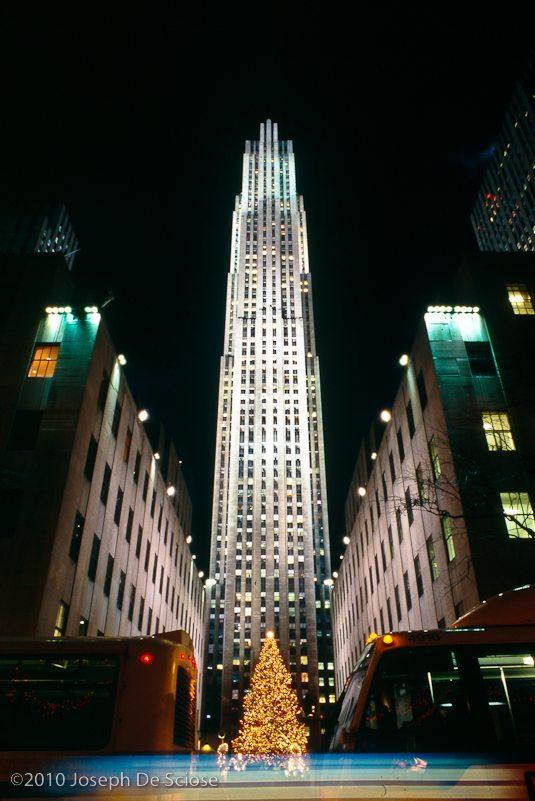 Rockefeller Center, Christmas, NYC