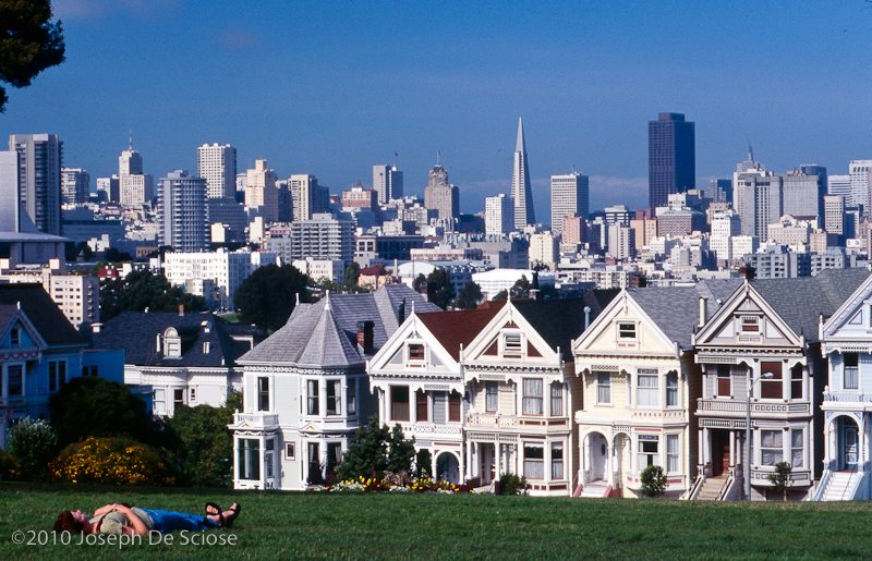 San Francisco, California, painted ladies, Victorian homes