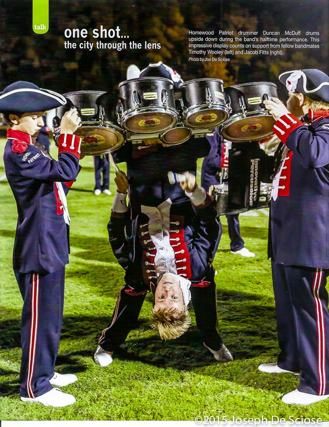 Homewood High School Band, Percussion Line