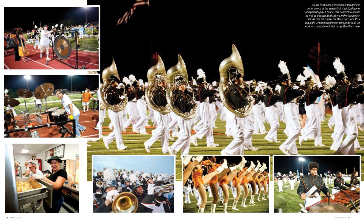 Hoover High School Marching Band, B-Metro Magazine