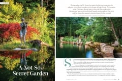 Jim Scott's Garden, Lake Martin, Alabama, Birmingham Home & Garden Magazine