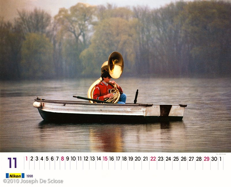 Nikon International Calendar. Photograph Joseph De Sciose
