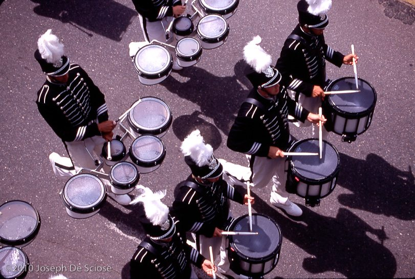 Drum line overhead