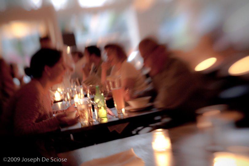 Photo, table top, Restaurant,photograph, Joseph De Sciose