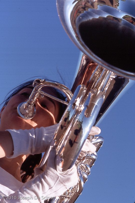 Tuba Abstract, Jefferson High School, Minnesota