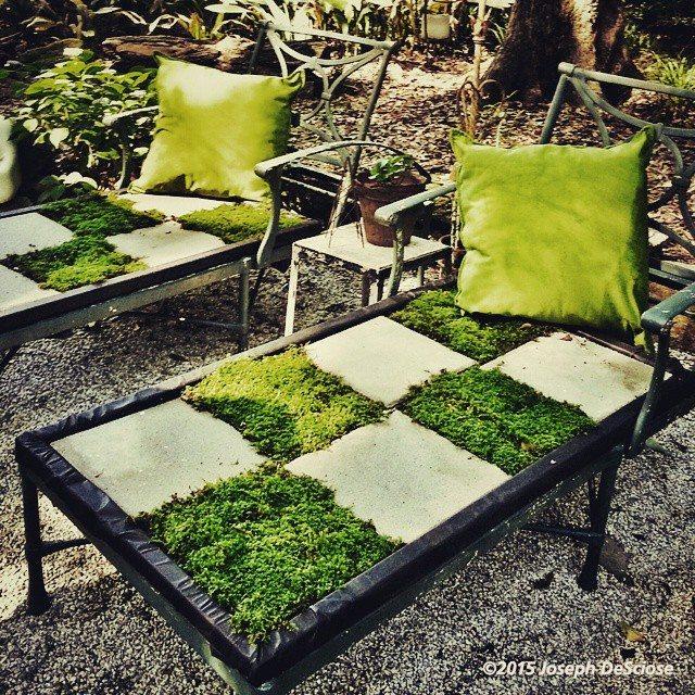 Superieur ... @auphotos @bnw_magazine #shape #garden #moss # Green# Spring  #chaise_longue #hudson_GARDEN #Douglasville_Georgia #outdoor_living # Furniture #leisure