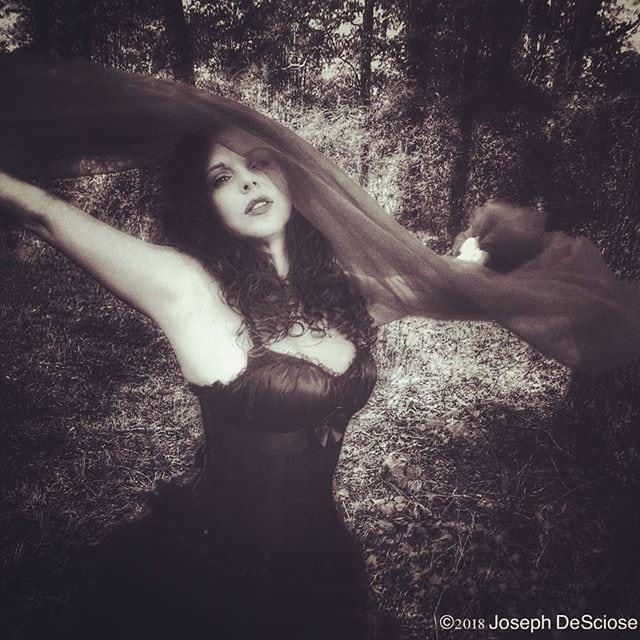 Garden nymph #joy #dance #woman #forest #goddess #blackandwhite #mysterious #romantic