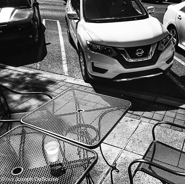 Sidewalk #photographer #inspiration #landscapephotography #commercial #lifestylephotography #editorialphotography #city #urban #parking #cafe
