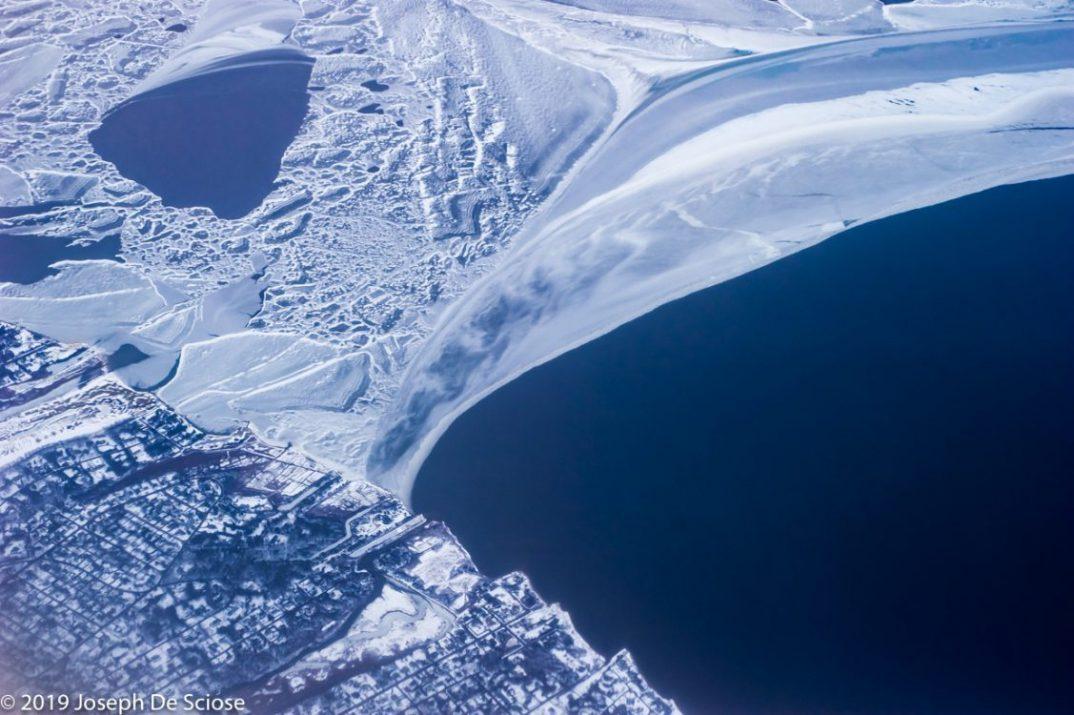Birmingham photographer, ocean, snow, ice, land, abstract, Long Island shoreline, New York